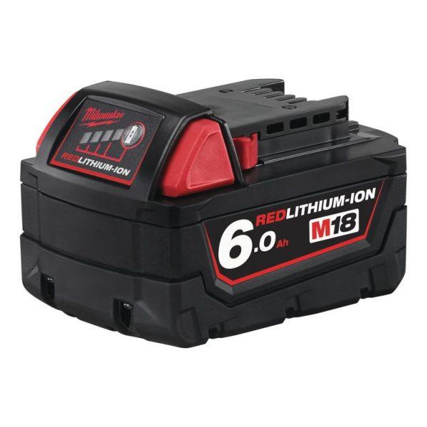 milwaukee m18 6ah akkumulátor